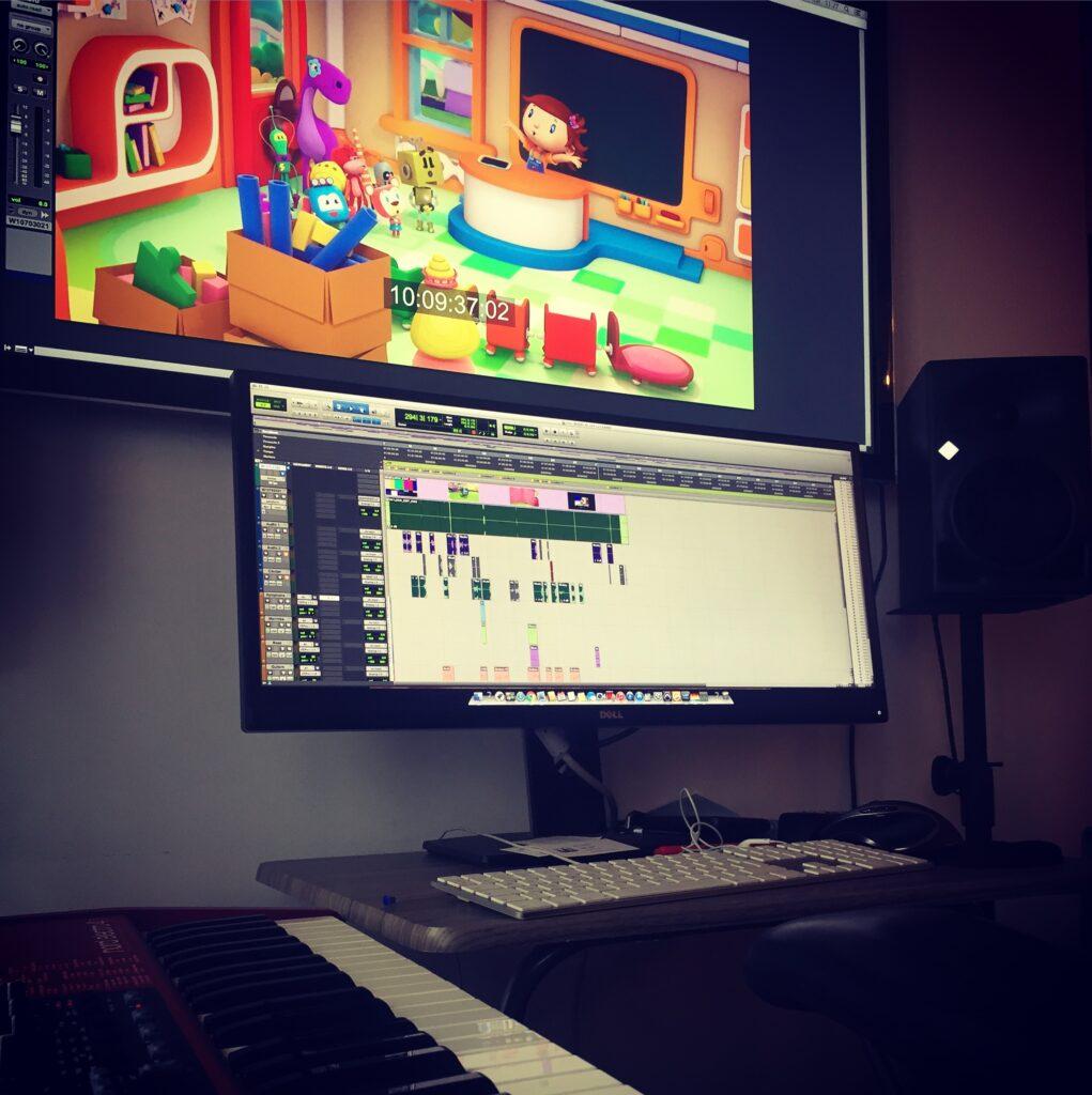 studio load animation la petite ecole d helene travail