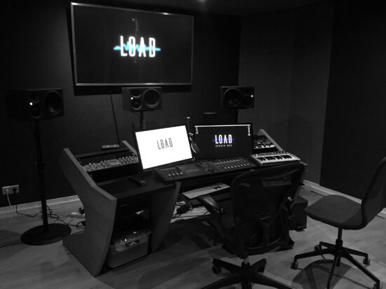 studio load creation sonore