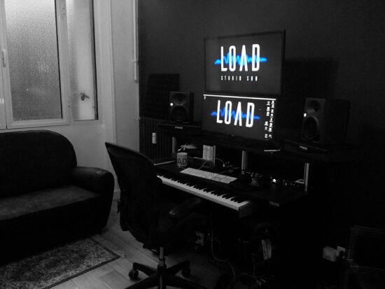 studio load lieu de travail